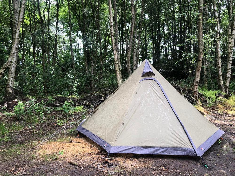 Splodz Blogz | Tipi in the Woodland