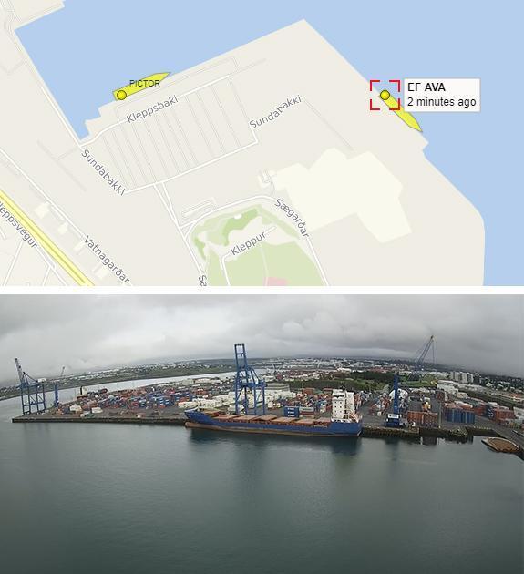 Splodz Blogz   Ship Docked in Iceland