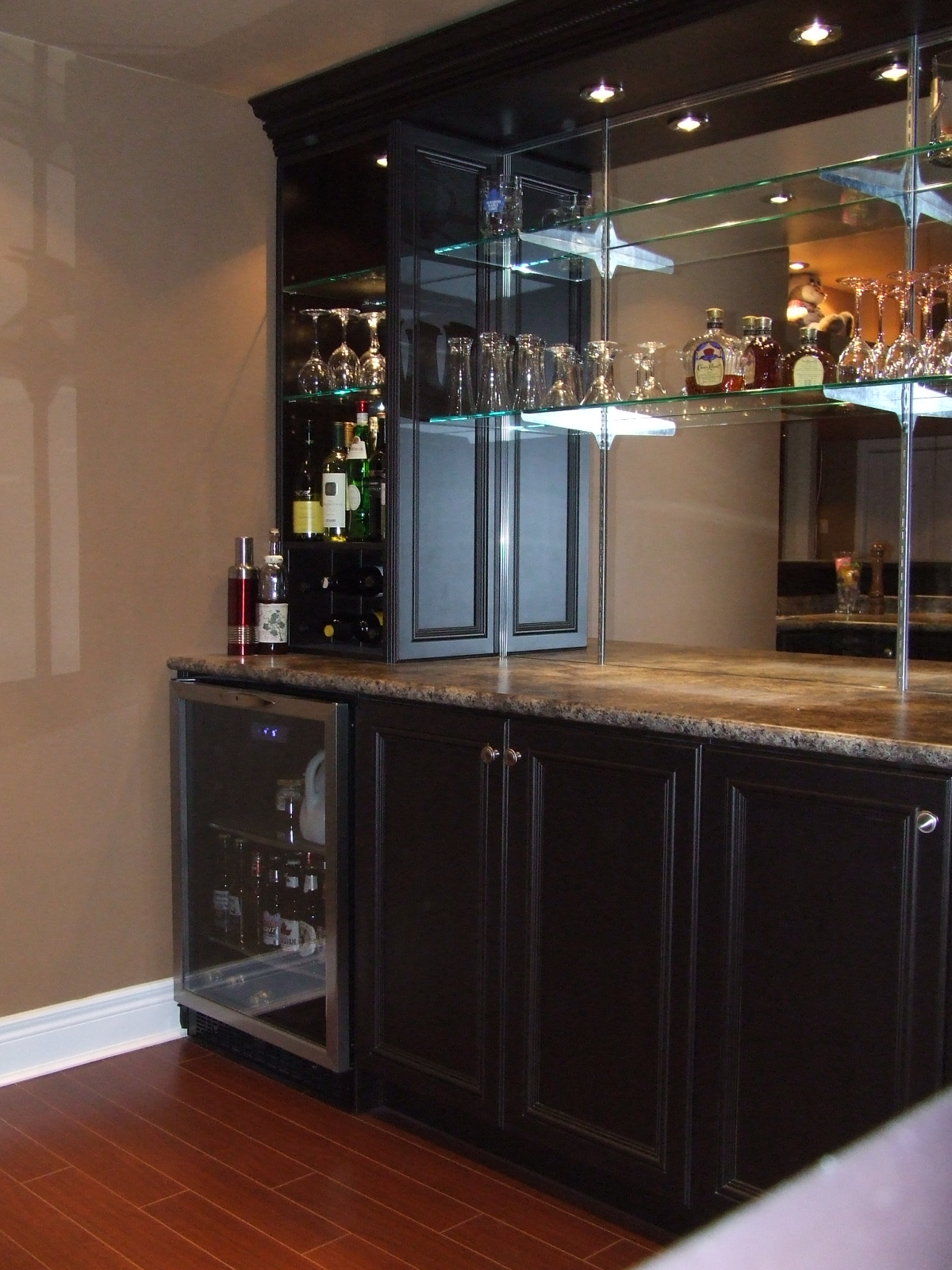 The Bar Sink Amp Dishwasher We Installed In Pauls Basement