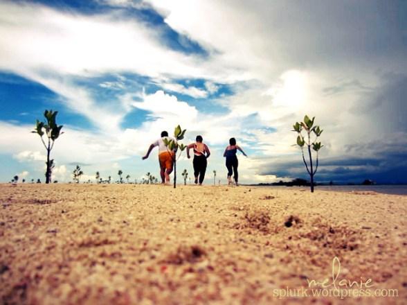Ubay sand bar