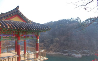 Newly built viewing area at Goseokjung