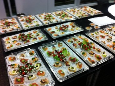 S+T Event_Catering_Canapes-Buffet