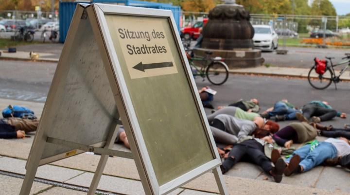 Stadtrat von Dresden vertagt Klimanotstand