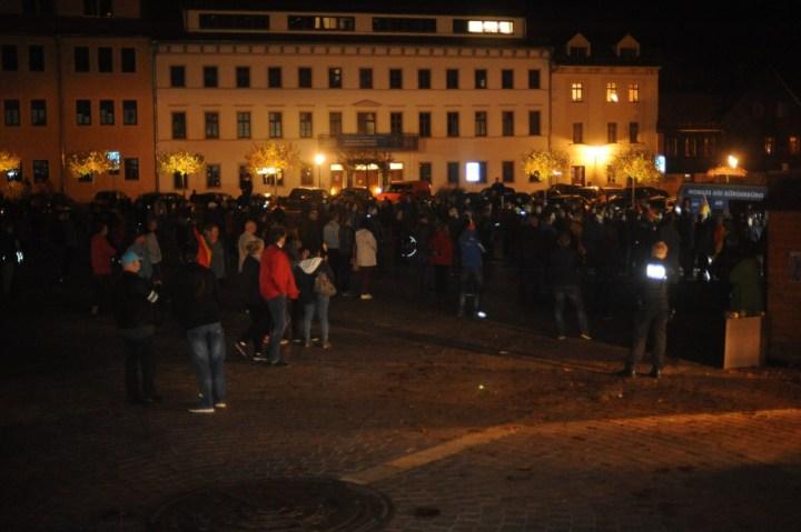 Kommentar: Widerstand gegen Lockdown-Light in Freiberg