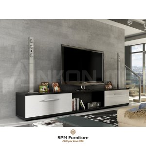 RTV Malton II - Black + White Gloss
