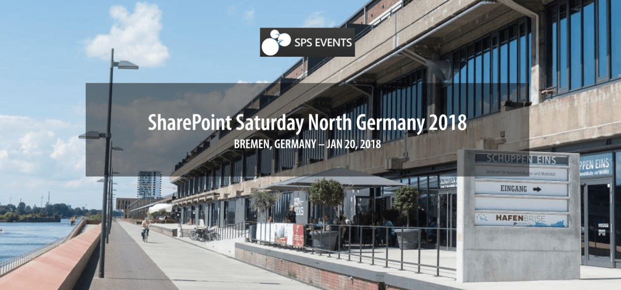 Zeitplan und Sessions für den SharePoint Saturday North Germany