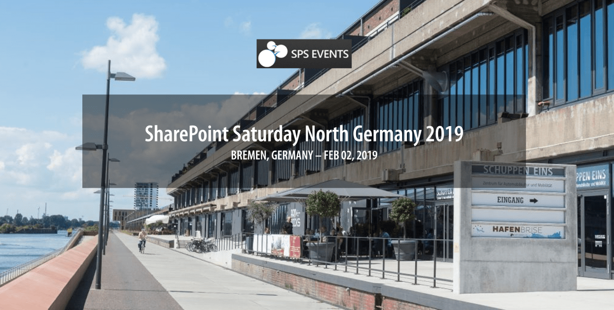 SharePoint Saturday Bremen 2019