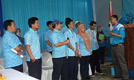 Pelantikan Pengurus PSP SPN PT. Coats Rejo Indonesia