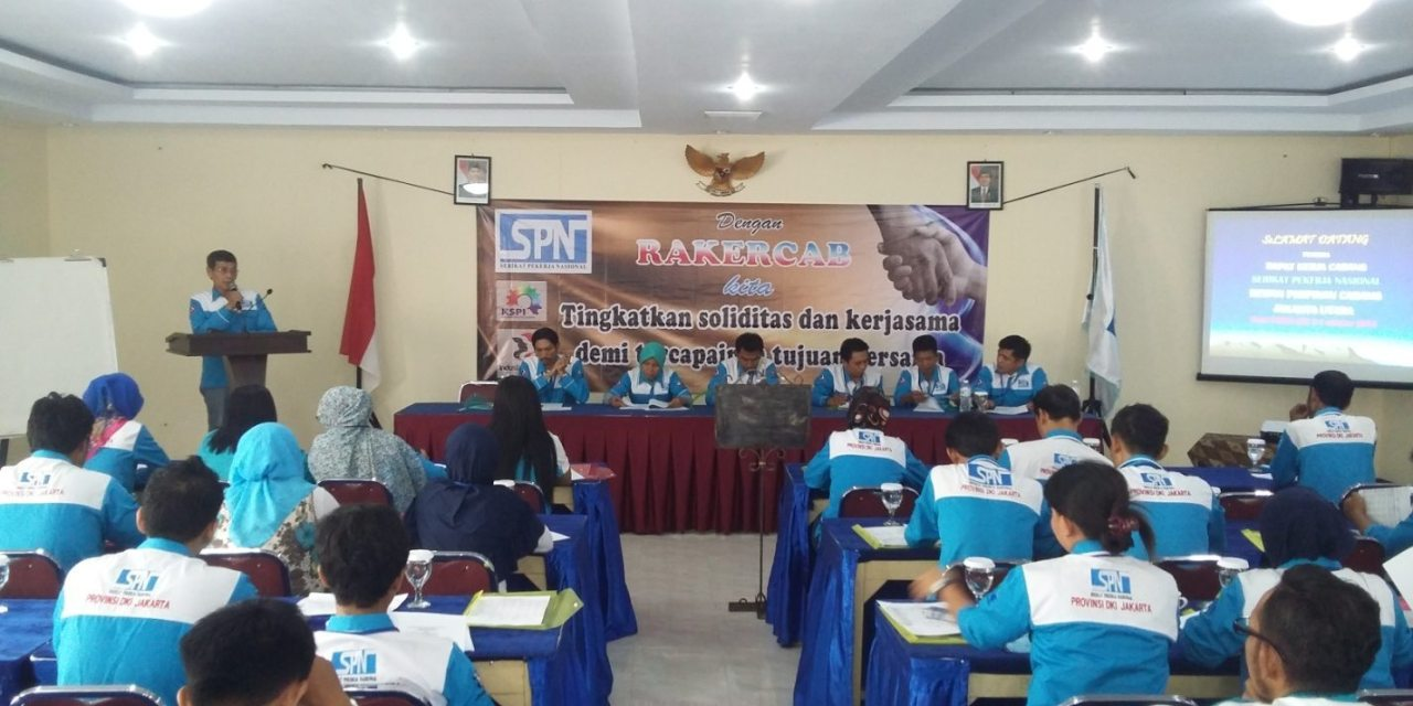 RAKERCAB I DPC SPN JAKARTA UTARA DKI JAKARTA