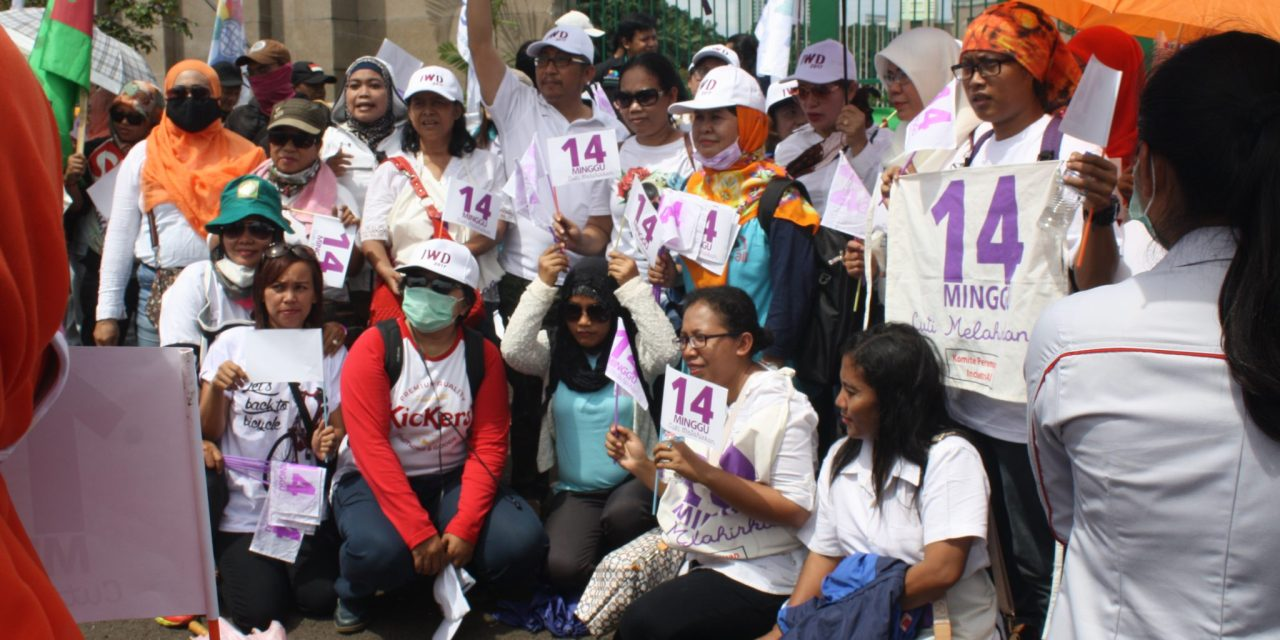 PERINGATAN INTERNATIONAL WOMAN'S DAY
