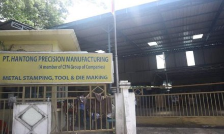 BOS HANTONG PRECISION MANUFACTUFING BATAM KABUR