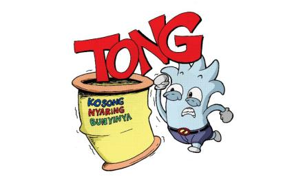 TONG KOSONG NYARING BUNYINYA