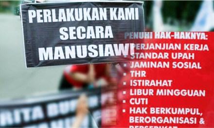 BURUKNYA JAMINAN HAK PEKERJA DI INDONESIA