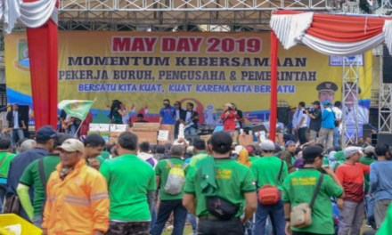PERAYAAN MAY DAY 2019 DI KOTA TANGERANG