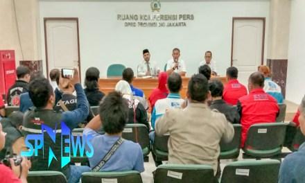 PERWAKILAN AKSI GERAKAN BURUH JAKARTA DITERIMA DPRD DAN GUBERNUR DKI JAKARTA