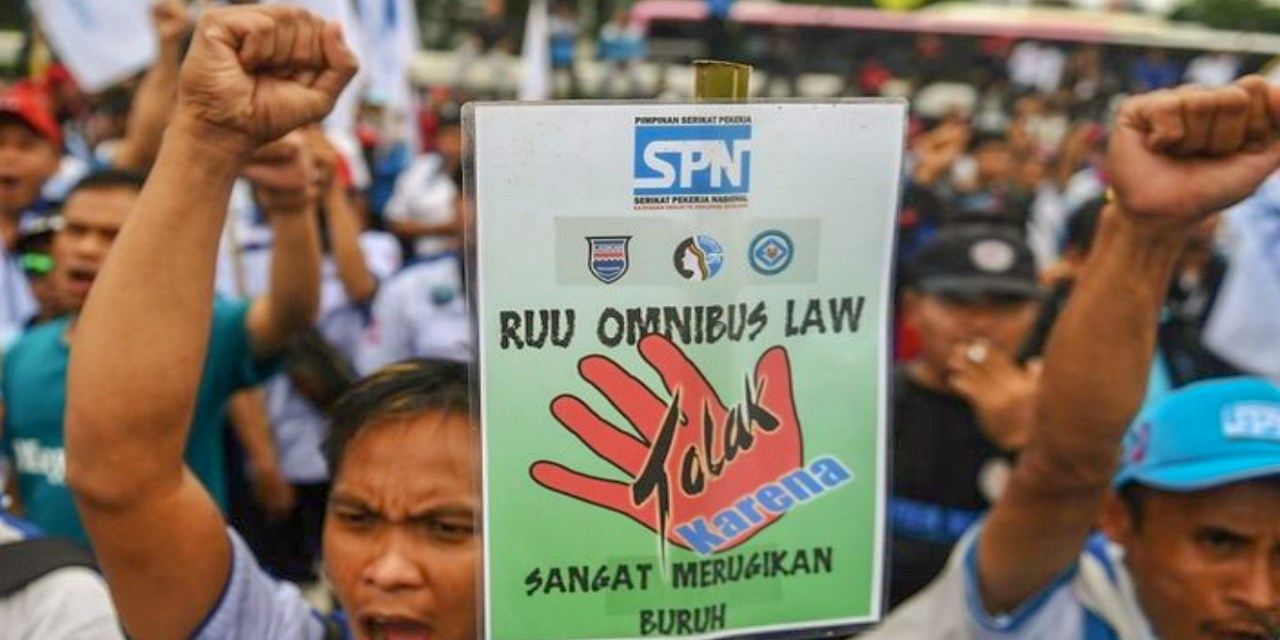 ADA TUJUH PASAL BERMASALAH DALAM RUU CIPTA KERJA MENURUT AMNESTY INTERNATIONAL INDONESIA