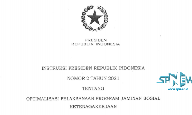 RESPON INPRES NO 2/2021, 34 RIBU TPP DESA TERDAFTAR PROGRAM BP JAMSOSTEK