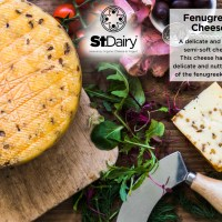 St Dairy Cheese - Fenugreek per kg