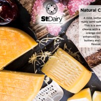 St Dairy Cheese - Natural per kg