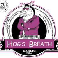 Blixem Sauce - Hog's Breath Garlic - 250ml