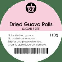 Dried Guava Rolls (Sugar Free) 110g