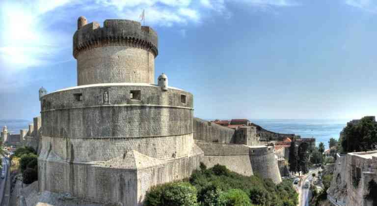 Dubrovnik-City-Walls