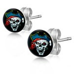 Hypoallergenic Stainless Steel Sensitive Stud Pirate Earrings