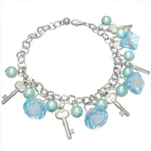Glass beaded bracelet jewellery