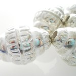 Silver Metal Large Jewellery Beads 6