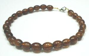 Glass-Beaded-Jewellery-Bracelet-Bangle-New-Fashion-in-Brown-400482299688