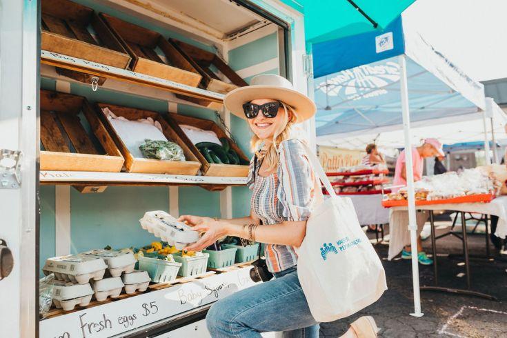 Exploring the Fairwood Farmer's Market with Kaiser Permanente Washington