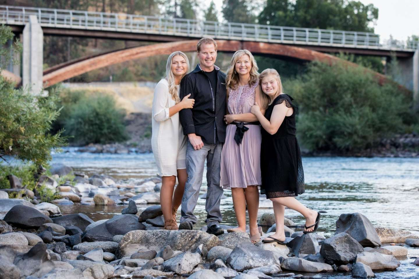 Family portrait session with Franklin Photography Studio