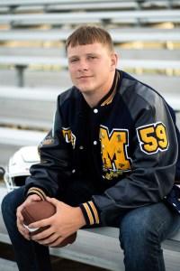 Mead HS football senior photographer Franklin Photography
