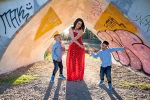Fun family photo Spokane, WA