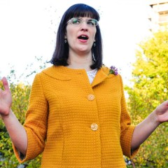 (RNS1-JUNE 18) Kate Kelly, founder of OrdainWomen.org, is facing possible excommunication for her views on patriarchy and the Mormon Church. For use with RNS-MORMON-EXCOMM, transmitted June 18, 2014. Creative Commons image by Katrina Barker Anderson