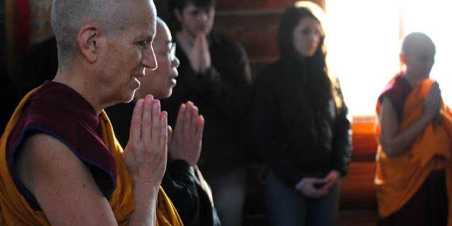 Venerable Thubten Chodron at Sravasti Abbey/Tracy Simmons - SpokaneFAVS