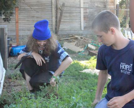 Youth work with Project Hope/Peter Houston-Hencken - SpokaneFAVS