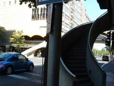 Downtown Spiral Staircases