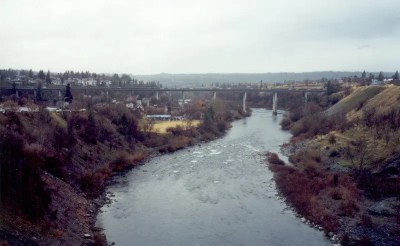 Spokane River George