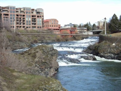 Condos Along the Spokane River