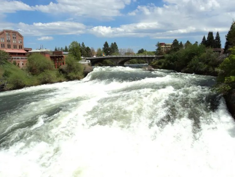 Spokane Upper Falls North Wing