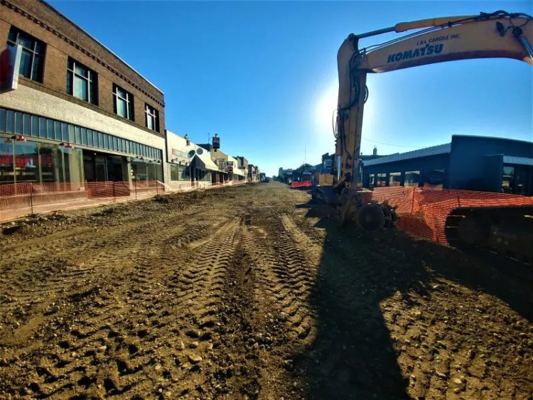 Sprague Avenue Spokane Under Construction