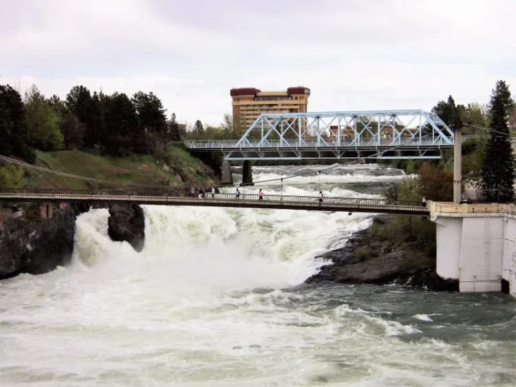 A Lovely Day to View Spokane Falls