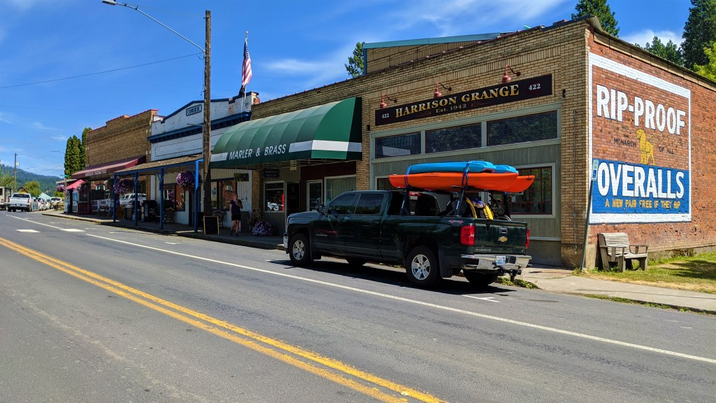 Most all businesses in Harrison are locally owned.