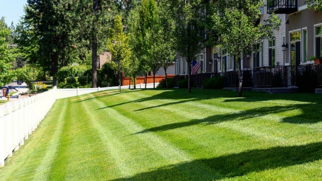 Lawn Mowing Services Spokane S Finest Lawns Quality And Top Rated
