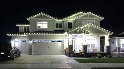 Christmas Light Installation 11