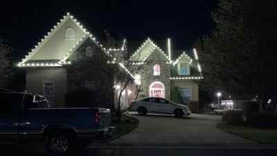 Christmas Light Installation 12