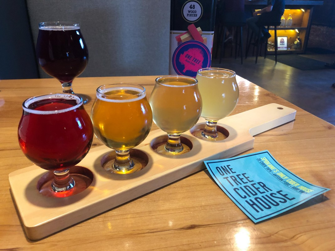 onetree spokane breweries