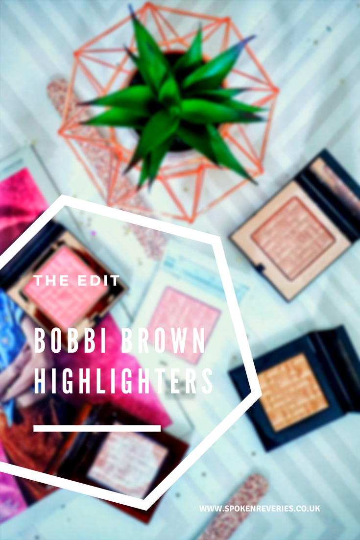 Bobbi Brown Highlighters post cover picture #bobbibrown #highlighters