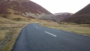 Heading up Mennock's Pass